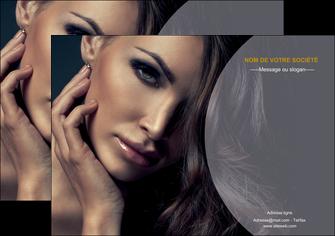 realiser affiche cosmetique beaute bien etre coiffure MLIP31384