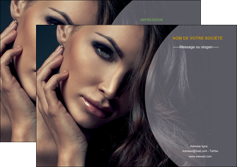 creation graphique en ligne flyers cosmetique beaute bien etre coiffure MLGI31386
