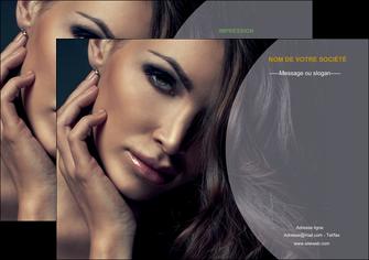 creation graphique en ligne flyers cosmetique beaute bien etre coiffure MLIP31386