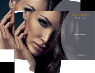 imprimer pochette a rabat cosmetique beaute bien etre coiffure MLGI31394