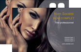 maquette en ligne a personnaliser carte de visite cosmetique beaute bien etre coiffure MLGI31395