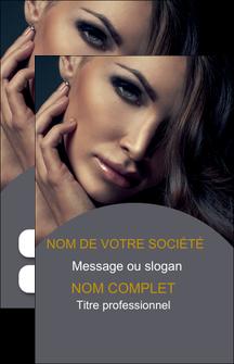 personnaliser modele de carte de visite cosmetique beaute bien etre coiffure MLGI31396