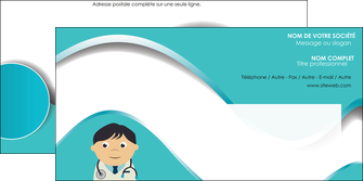 maquette en ligne a personnaliser enveloppe chirurgien docteur soin soin medical MIF31472