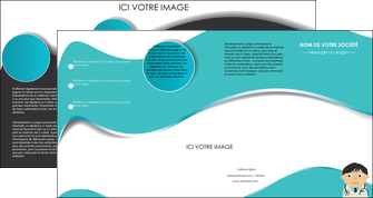 creation graphique en ligne depliant 4 volets  8 pages  chirurgien docteur soin soin medical MIS31476