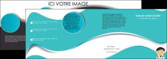 creer modele en ligne depliant 4 volets  8 pages  chirurgien docteur soin soin medical MIF31478