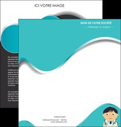 creer modele en ligne depliant 2 volets  4 pages  chirurgien docteur soin soin medical MIF31484