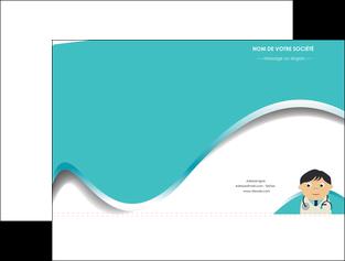 maquette en ligne a personnaliser pochette a rabat chirurgien docteur soin soin medical MIF31504