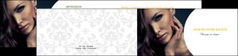 imprimerie depliant 2 volets  4 pages  cosmetique beaute bien etre coiffure MLGI31524