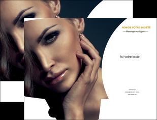 creation graphique en ligne pochette a rabat cosmetique beaute bien etre coiffure MLGI31528