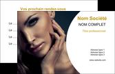 impression carte de visite cosmetique beaute bien etre coiffure MLGI31535