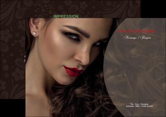 faire flyers centre esthetique  beaute bien etre coiffure MLGI31654