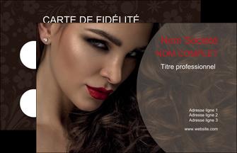 realiser carte de visite centre esthetique  beaute bien etre coiffure MLGI31670