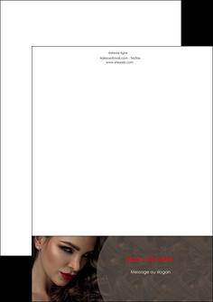 creation graphique en ligne tete de lettre centre esthetique  beaute bien etre coiffure MLGI31674