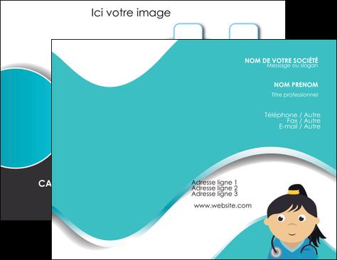 Modele Carte De Visite Infirmier Infirmiere Infirmerie Aide Soignant MLGI31688