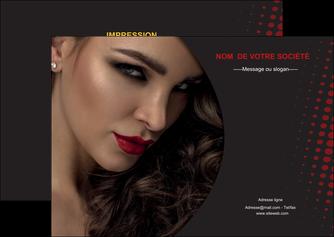 modele flyers centre esthetique  coiffeur a domicile salon de coiffure salon de beaute MLGI31756