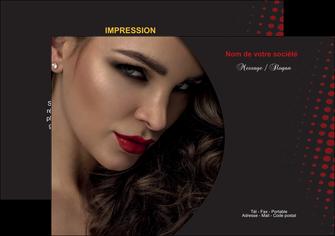 faire flyers centre esthetique  coiffeur a domicile salon de coiffure salon de beaute MLGI31758