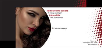 realiser carte de correspondance centre esthetique  coiffeur a domicile salon de coiffure salon de beaute MLGI31762
