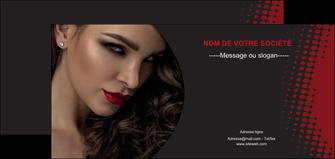 modele flyers centre esthetique  coiffeur a domicile salon de coiffure salon de beaute MLGI31764
