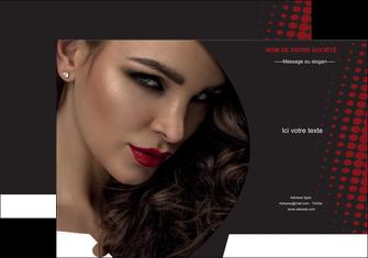 modele en ligne pochette a rabat centre esthetique  coiffeur a domicile salon de coiffure salon de beaute MLGI31770