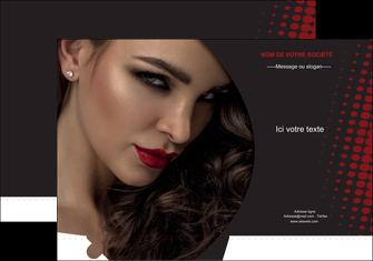 faire modele a imprimer pochette a rabat centre esthetique  coiffeur a domicile salon de coiffure salon de beaute MLGI31772