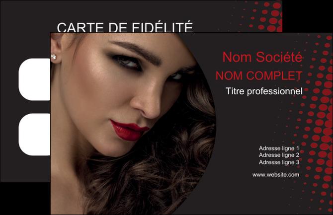 Fabuleux Carte de visite modèle et exemple coiffeur à domicile, salon de  BN57