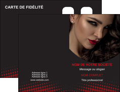 personnaliser maquette carte de visite centre esthetique  coiffeur a domicile salon de coiffure salon de beaute MLGI31776