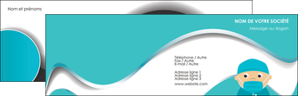maquette en ligne a personnaliser carte de visite infirmier infirmiere infirmier infirmerie aide soignant MLGI31792