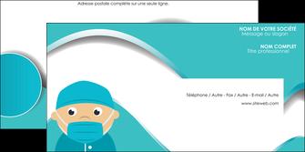 imprimer enveloppe infirmier infirmiere infirmier infirmerie aide soignant MLGI31796