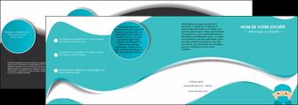 imprimerie depliant 4 volets  8 pages  infirmier infirmiere infirmier infirmerie aide soignant MLGI31802