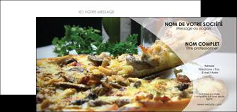maquette en ligne a personnaliser carte de correspondance pizzeria et restaurant italien pizza pizzeria restaurant italien MLGI31866