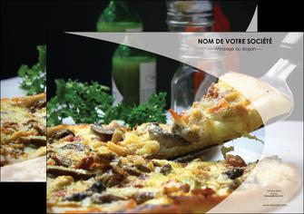 maquette en ligne a personnaliser affiche pizzeria et restaurant italien pizza pizzeria restaurant italien MLGI31868