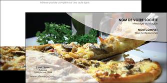 personnaliser modele de enveloppe pizzeria et restaurant italien pizza pizzeria restaurant italien MLGI31886