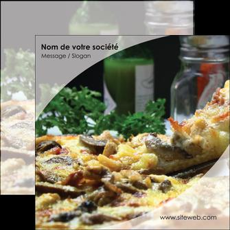 creer modele en ligne flyers pizzeria et restaurant italien pizza pizzeria restaurant italien MLGI31892