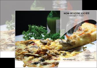 creer modele en ligne pochette a rabat pizzeria et restaurant italien pizza pizzeria restaurant italien MLGI31896