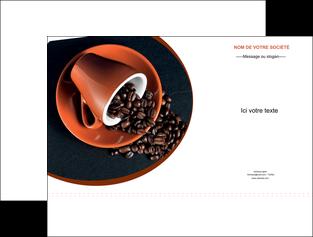 creer modele en ligne pochette a rabat discotheque et night club cafe tasse de cafe graines de cafe MLIG31960