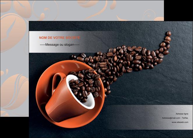 personnaliser maquette affiche bar et cafe et pub cafe bar torrefacteur MLGI31978