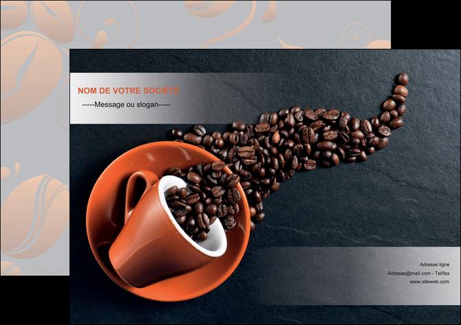 maquette en ligne a personnaliser affiche bar et cafe et pub cafe bar torrefacteur MLGI31980