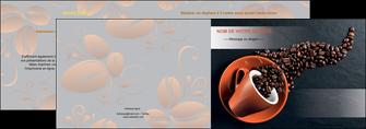 faire modele a imprimer depliant 2 volets  4 pages  bar et cafe et pub cafe bar torrefacteur MLGI31984