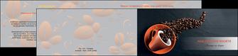 creer modele en ligne depliant 2 volets  4 pages  bar et cafe et pub cafe bar torrefacteur MLGI31986