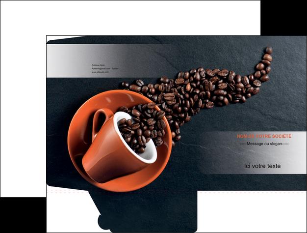 maquette en ligne a personnaliser pochette a rabat bar et cafe et pub cafe bar torrefacteur MLGI31988