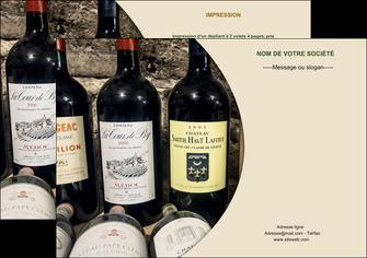 faire flyers vin commerce et producteur caviste vin vignoble MLIG32010