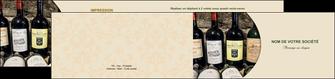 modele en ligne depliant 2 volets  4 pages  vin commerce et producteur caviste vin vignoble MLIG32014