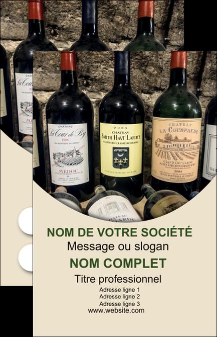 Faire Carte De Visite Vin Commerce Et Producteur Caviste Vignoble MLGI32020