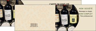 personnaliser modele de carte de visite vin commerce et producteur caviste vin vignoble MLIG32022