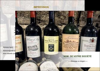 modele flyers vin commerce et producteur caviste vin vignoble MLIG32068
