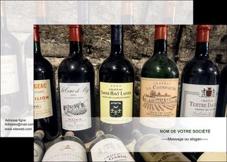 personnaliser maquette affiche vin commerce et producteur caviste vin vignoble MLIG32070