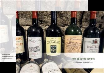 realiser affiche vin commerce et producteur caviste vin vignoble MLIG32072