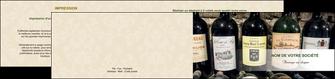 creer modele en ligne depliant 2 volets  4 pages  vin commerce et producteur caviste vin vignoble MLIG32078