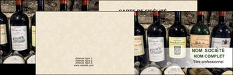 modele carte de visite vin commerce et producteur caviste vin vignoble MLIG32086