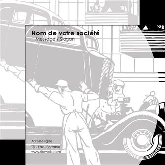 creation graphique en ligne flyers garage concessionnaire automobile reparation de voiture MIS32134